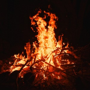 campfire-Nightfall-camp-glaming-queensland-wilderness-experience